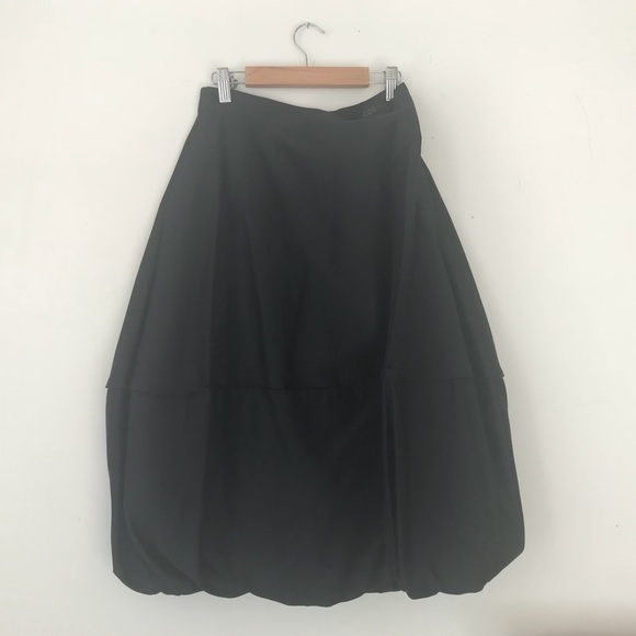 a803aab9d COS Skirts   2017 Black Cocoon Skirt Never Worn   Poshmark